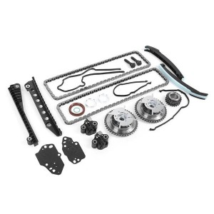 Timing Chain Kit Cam Phasers Cover Gasket Fit for FORD F-150 F-250 F-350 05-09 3R2Z6A257DA