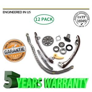 Timing Chain Kit Fit 01-15 Toyota Camry Rav4 Matrix Scion 2.0 1AZFE 2.4 2AZFE