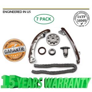 Timing Chain Kit Fit 00-08 Chevrolet Pontiac Toyota Corolla Celica Matrix 1ZZFE