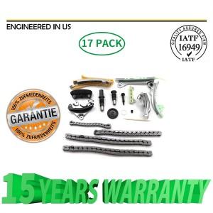 Timing Chain Kit w/o Gears Fit 97-06 Ford Mazda Mercury 4.0L SOHC