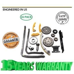 For 00-11 GM 2.0L 2.2L 2.4L Ecotec Engine Timing Chain w/ Balance Shaft Kit L61