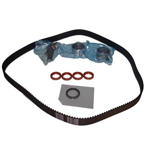Timing Belt Kit with Water Pump for Hyundai Kia 2.5l 2.7l V-belt Hydraulic Tensioner