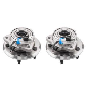 Pair Wheel Hub Bearing Assemblies for Chevrolet Captiva Sport 2012-2015/Equinox 2007-2009 Pontiac Torrent 2007-2009 Saturn Vue 2008-2010 Suzuki Xl-7 2007-2009