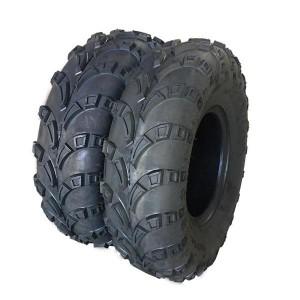 Set of (2) Depth:10.5mm 22x10-10 22x10x10 P3039 6PR PSI:5 ATV Tires