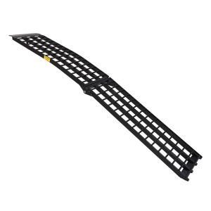 1pc 9' Aluminum Wide Truck Loading Ramp for Motorcycle trailer lightweight