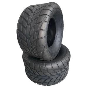 20x10-10 ATV Tires 255/50-10 ATV Race Tubeless 6 PR Z-129 [Set of 2]