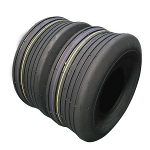 Set of(2) 16x6.50-8 4 Ply millionparts Rib Tire for lawn mower garden tractor