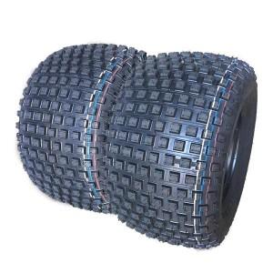 One New ATV Tire 22X11-8 22x11x8 4PR Warranty Tread Depth:0.37in(9.5mm) P323