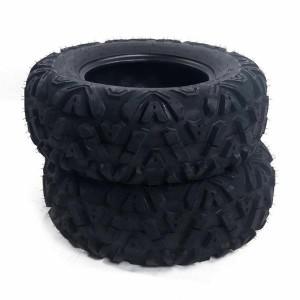 One ATV UTV All Terrain 6 Ply Tire 27x9-14 395lbs Speed Rating F