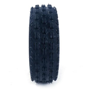 19X7-8 SPORT ATV KNOBBY 4-PLY TIRE Tubeless P327 Left, Right, Front[Set of 1]