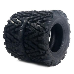 Set of (2) 27x9-14 27x9x14 ATV UTV All Terrain 6 Ply Tires  millionparts