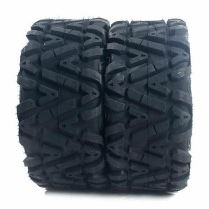 Set of (2) 27x9-14 27x9x14 ATV UTV All Terrain 6 Ply Tires  millionparts