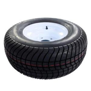 One - 20.5x8.0-10 Tires Wheels 5LUG 10PR P825 Galvanized RIM Rim width: 6.0in