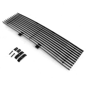 1pc Lower Bumper Polished Aluminum Car Grilles for Ford F-150 2009-2014 Chrome
