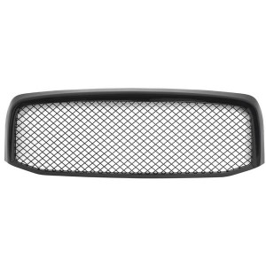 ABS Plastic Car Front Bumper Grille for 06-08 Dodge Ram 1500 / 06-09 Dodge Ram 2500 3500 ABS Plastic Coating QH-DO-004 Black