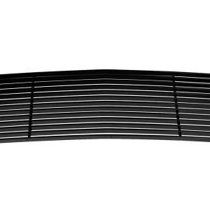 Main Upper Aluminum Car Grilles 2016-2018 for Chevy Silverado 1500 Black Coating