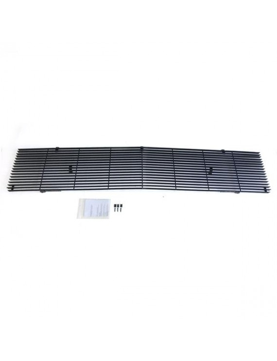 1pc Main Upper Black Powder Coated Aluminum Car Grille for Chevrolet Van Suburban C10 C20 K10 K20 K5