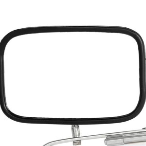 Pair Set LH RH Stainless Steel Side Manual View Mirrors For Ford F150 F250 F350