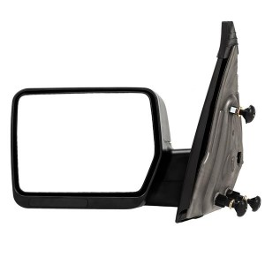 Left Driver Side For 04-2014 Ford F150 Pickup Truck Textured Manual View Mirror