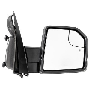 RH Right Passenger Side Power Heated Mirror Black 2015-2017 For Ford F150