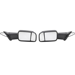 Fits 2009-2012 Ram 1500 2500 3500 Power Heated Signal Towing Side Mirrors Pair