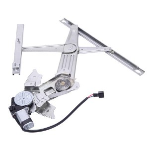 Front Left Power Window Regulator with Motor for 02-10 Dodge Ram